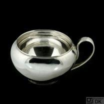 Svend Weihrauch - F. Hingelberg. Sterling Silver Sugar Bowl.