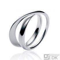 Georg Jensen Silver Ring # 369 - MÖBIUS