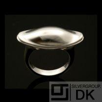 Georg Jensen Silver Ring - Fish Dish #274 Koppel