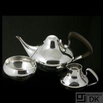Georg Jensen Silver Tea Set #1017 - Henning Koppel