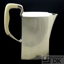 Hans Hansen Silver Pitcher with Ivory Handle #454