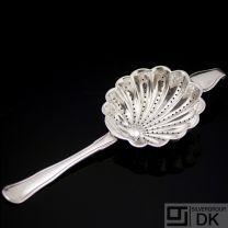 Vintage Danish Silver Tea Strainer - A. Michelsen 1869