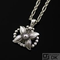 Georg Jensen. Sterling Silver Pendant of the Year 1998 - Heritage.
