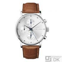 Georg Jensen Men's Chronograph # 492 - Silver Dial - KOPPEL
