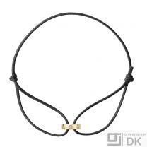Georg Jensen Gold Bracelet w/ Diamonds - #1513C Magic