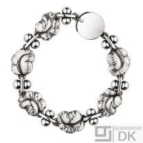 Georg Jensen. Sterling Silver Grapes Bracelet #96 - Denmark.