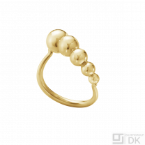 Georg Jensen. 18k Gold Ring #1551A - Moonlight Grapes