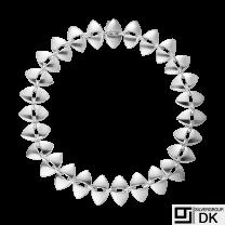 Georg Jensen. Sterling Silver Necklace#106 - Nanna Ditzel.