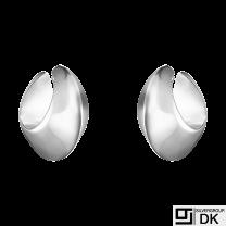Georg Jensen. Sterling Silver Earrings / Earcuffs #126B - Nanna Ditzel.