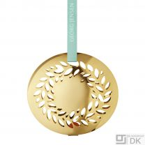 Georg Jensen Gold Plated Christmas Mobile 2016 - Christmas Wreath