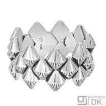 Georg Jensen Silver Bracelet - Archive Collection #112 - Arno Malinowski