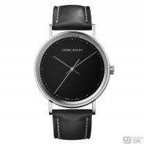 Georg Jensen 38mm Watch Black - Henning Koppel - K38-ST51