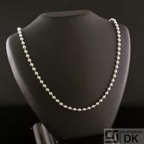 "Danish Silver Necklace, 60 cm./ 23.6"" - Lund Copenhagen"