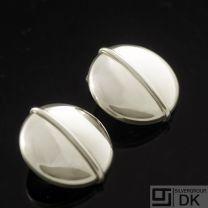 Georg Jensen Silver Ear Clips - #232