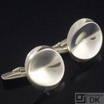 Georg Jensen Vintage Sterling Silver Cuff Links - #74