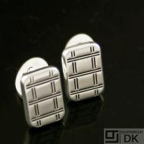 Danish Silver Cufflinks - Lund Copenhagen