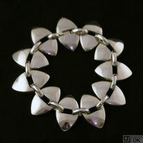 Georg Jensen Silver Bracelet #106 - Nanna Ditzel - VINTAGE