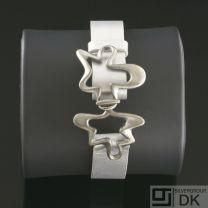 Georg Jensen Silver Bracelet - Splash #429B Silver