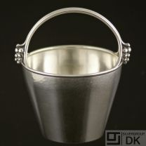 Danish Silver Bowl w/ Handle - H. Wilhelm F. Jensen - VINTAGE