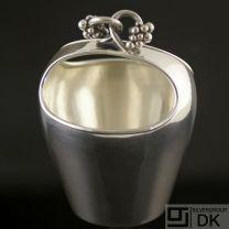 Danish Silver Bowl w/ Handle - Holger Rasmussen - VINTAGE