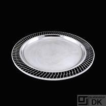 A.F. Rasmussen - Denmark. Round Sterling SilverWire Dish #510C.