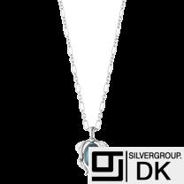 Georg Jensen Silver Pendant with Labradorite - Heritage 2015