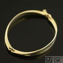 Danish Gold Bracelet - Hans Hansen - VINTAGE