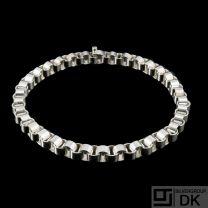 Knud Barslund. Danish Sterling Silver Necklace.