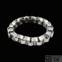 Knud Barslund. Danish Sterling Silver Bracelet.