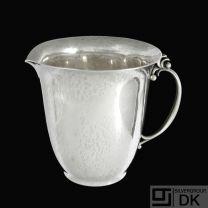 Georg Jensen. Hammered Sterling Silver Jug #456 - 1925-32 Hallmarks