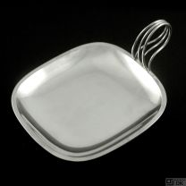 Svend Weihrauch - F. Hingelberg. Sterling Silver Tray.