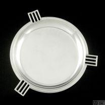 Svend Weihrauch - F. Hingelberg. Art deco Sterling Silver Dish