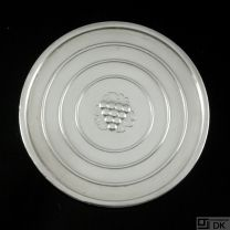 Georg Jensen Sterling Silver Coaster #193A