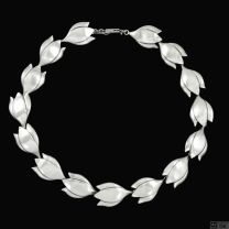 Max Brammer - Denmark. Sterling Silver Necklace.