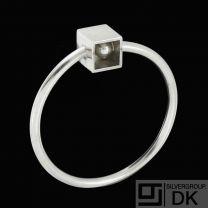 Bent Knudsen - Denmark. Sterling Silver Bangle #248. 1960s