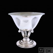 Georg Jensen. Sterling Silver Bowl#17B- 1933-44 Hallmarks.