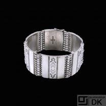 Georg Jensen. Sterling Silver Bracelet #65- Gundlach-Pedersen - 1933-44