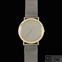 Georg Jensen. Watch #1347 - 18k Gold - Thorup & Bonderup
