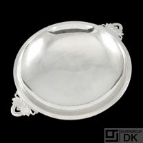 Georg Jensen. Sterling Silver Cactus Dish / Bowl - #629G - 1933-51.