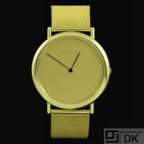 Georg Jensen. Watch #1347 - ALL GOLD 18K - Thorup & Bonderup