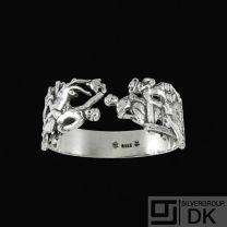 H.C. Andersen Fairy Tale Silver Napkin Ring.