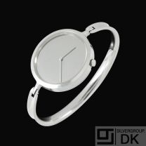 Georg Jensen. Vivianna Torun Bangle Watch #327. Size L