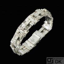 Jens Hougaard Design - CPH. Sterling Silver Bracelet #77.
