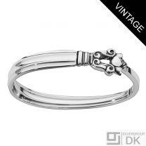Georg Jensen Silver Napkin Ring, Closed - Acorn/ Konge - VINTAGE