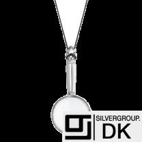 Georg Jensen Sterling Silver Magnifier Pendant - Acorn/ Konge