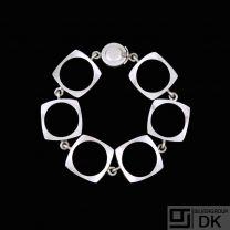 N.E. From. Sterling Silver Bracelet - Denmark 1960s