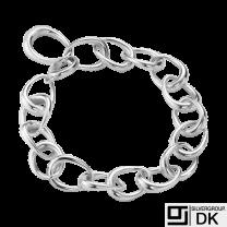 Georg Jensen. Sterling Silver Bracelet #433C - Offspring