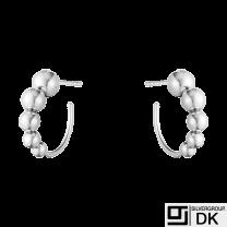 Georg Jensen. Sterling Silver Earrings #551O - Moonlight Grapes