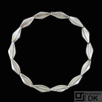 S. Chr. Fogh. Modern Danish Sterling Silver Necklace - 1960s