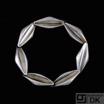 S. Chr. Fogh - Copenhagen. Sterling Silver Bracelet. 1960s